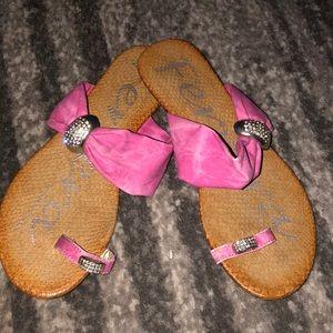 Ferrera By Henry Ferrera Pink Sandals